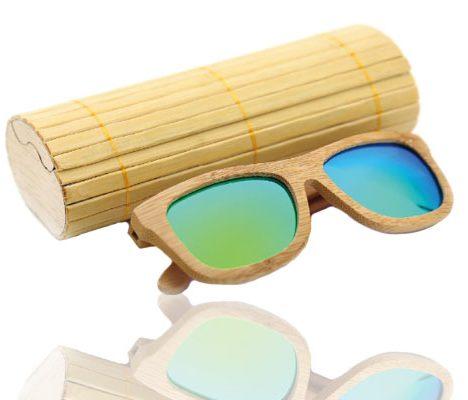 akiniai nuo saules vasara mediniai bambukas stilius fashion super