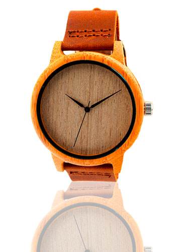 laikrodis medinis bambukinis smart art fashion watch wood