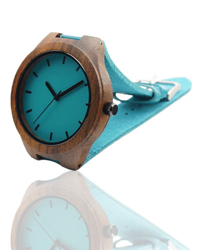 melynas laikrodis medinis bambukinis smart and art fashion trendy stilingas aksesuaras laikas
