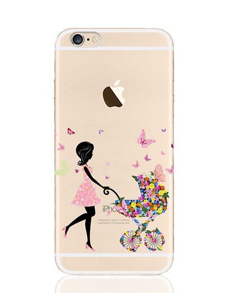 silikoninis deklas telefonui iphone