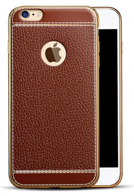dekliukas nugarele iphone 6 6s telefonams smartandart smart and art sviesiai rudos spalvos