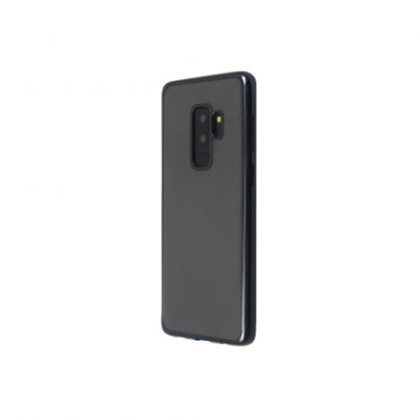 Back-Cover-Mirror-for-Galaxy-S9-2018-Black-Just-Must