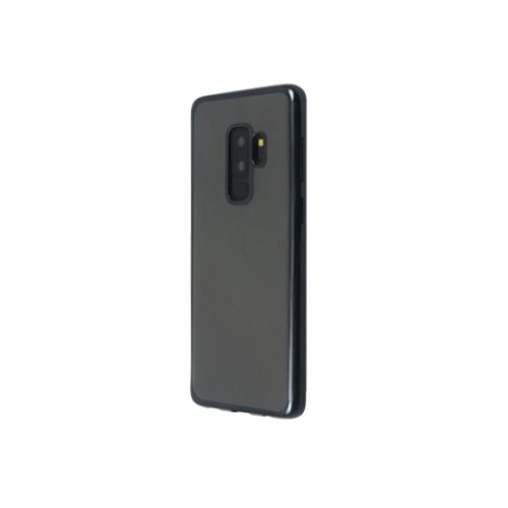 Back-Cover-Mirror-for-Galaxy-S9-Plus-2018-Black-Just-Must