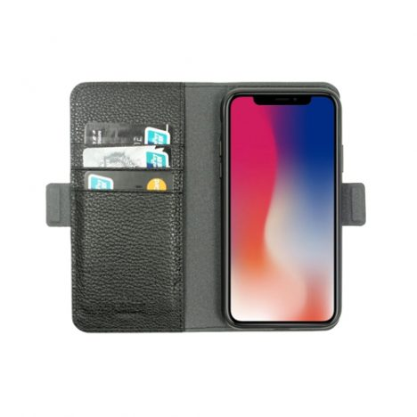 Car-wallet-case-for-iPhone-X-XS-Black-Just-Must