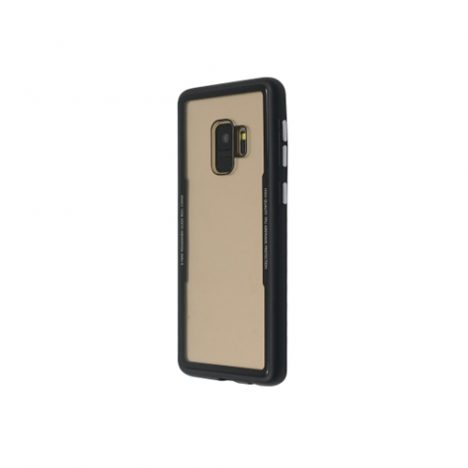 GLASS-Simple-back-cover-for-Galaxy-S9-Black-Just-Must